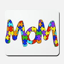 Mom Autism Awareness Mousepad