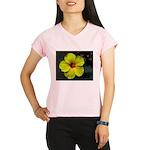 .yellow hibiscus. Performance Dry T-Shirt