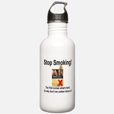 Stop Smoking Water Bottle