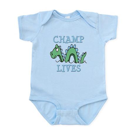 Champ Lives Infant Bodysuit