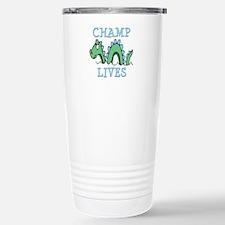 Champ Lives Stainless Steel Travel Mug
