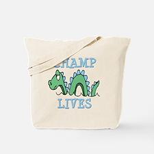 Champ Lives Tote Bag