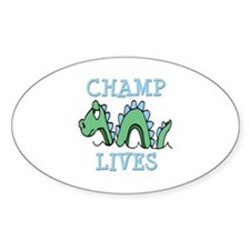 Champ Lives Decal