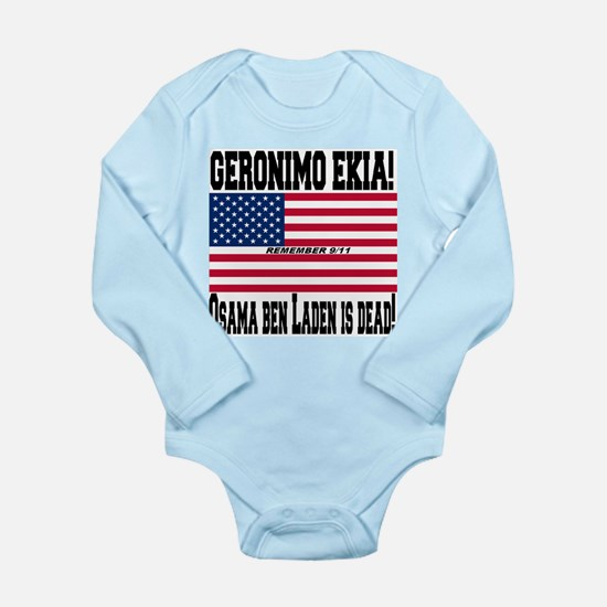 Geronimo EKIA Long Sleeve Infant Bodysuit