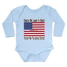 Osama bin Laden Is Dead Long Sleeve Infant Bodysui
