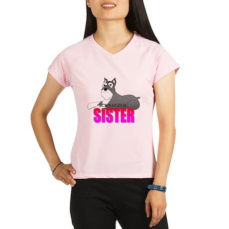 Schnauzer Sister Performance Dry T-Shirt