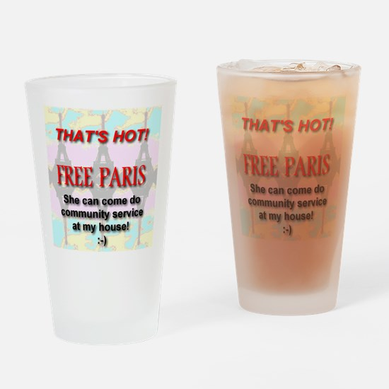 That's Hot! Free Paris Drinking Glass