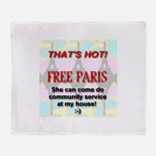 That's Hot! Free Paris Throw Blanket