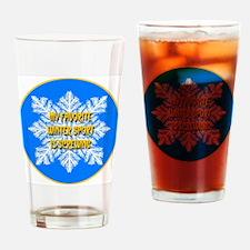 My Favorite Winter Sport Is S Drinking Glass