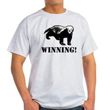 Honey Badger Winning T-Shirt