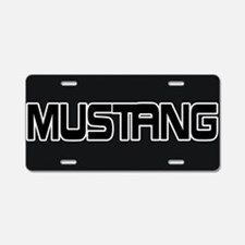 Cute Ford mustang 1965 Aluminum License Plate