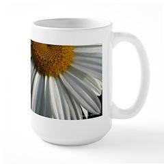 .half-daisy. Large Mug