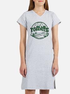 Yosemite Old Circle Green Women's Nightshirt