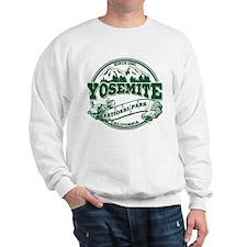 Yosemite Old Circle Green Sweatshirt