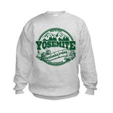 Yosemite Old Circle Green Sweatshirt