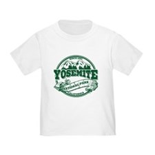 Yosemite Old Circle Green T