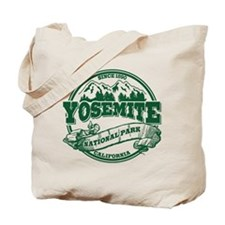 Yosemite Old Circle Green Tote Bag
