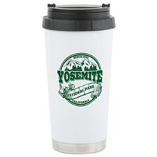 Yosemite Old Circle Green Travel Mug