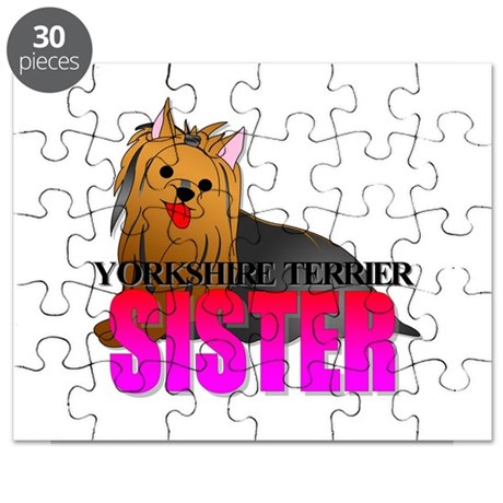 Yorkshire Terrier Sister Puzzle