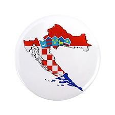 "Croatia Map 3.5"" Button"