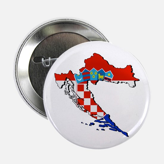 "Croatia Map 2.25"" Button"