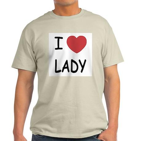 I heart lady Light T-Shirt