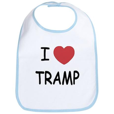 I heart tramp Bib