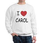 I heart carol Sweatshirt
