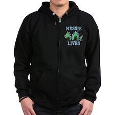 Nessie Lives Zip Hoodie