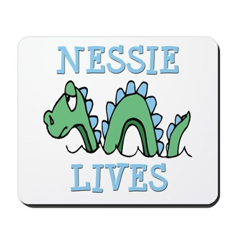 Nessie Lives Mousepad