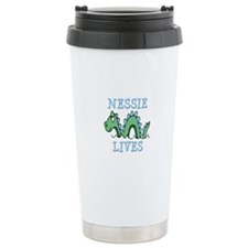 Nessie Lives Travel Coffee Mug