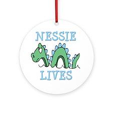 Nessie Lives Ornament (Round)