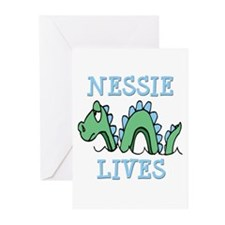 Nessie Lives Greeting Cards (Pk of 10)