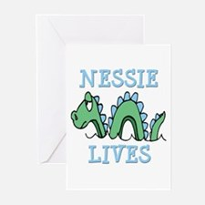 Nessie Lives Greeting Cards (Pk of 20)