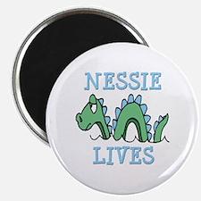 "Nessie Lives 2.25"" Magnet (10 pack)"