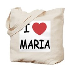 I heart maria Tote Bag