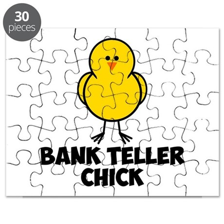 Bank Teller Chick Puzzle