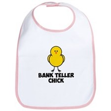 Bank Teller Chick Bib