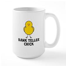 Bank Teller Chick Mug