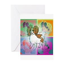 Papillon Greeting Card