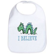 I Believe in Sea Monsters Bib