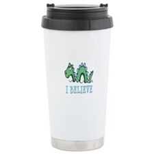 I Believe in Sea Monsters Travel Mug