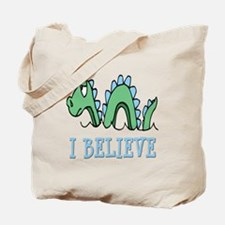 I Believe in Sea Monsters Tote Bag