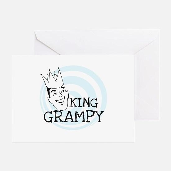 King Grampy Greeting Card