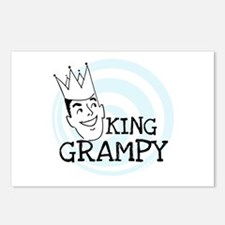 King Grampy Postcards (Package of 8)