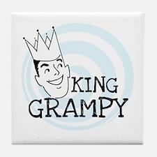 King Grampy Tile Coaster