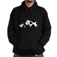 Chicken and cow egg Hoodie