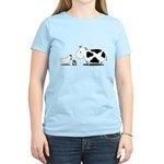 Chicken and cow egg Women's Light T-Shirt