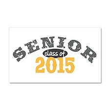 Senior Class of 2015 Car Magnet 20 x 12