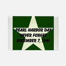 Pearl harbor day: Never forge Rectangle Magnet